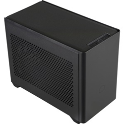 COOLERMASTER NR200- MINI-ITX- STEEL SIDE PANEL- 1X 120MM FAN- AIO COOLER SUPPORT