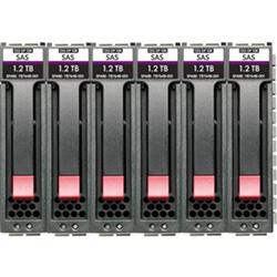 HPE MSA 10.8T SAS 10K SFF M2 6PK HDD BDL