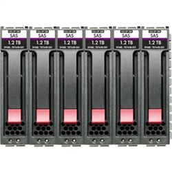 HPE MSA 48TB SAS 7.2K LFF M2 6PK HDD BDL