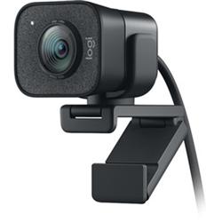 LOGITECH STREAMCAM 1080P HD-BUILT IN MIC-AUTO FOCUS-USB-C-GRAPHITE-1YR WTY
