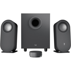 Z407 COMPUTER SPEAKERS WITH SUBWOOFER AND WIRELESS CONTROL