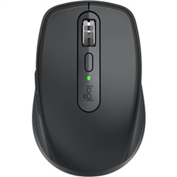 LOGITECH MX ANYWHERE 3S WIRELESS MOUSE- 2.4GHZ USB RECEIVER OR BLUETOOTH-GRAPHITE-1YR WTY