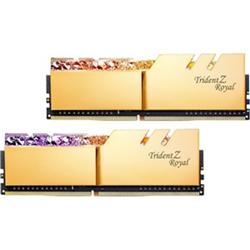 TRIDENT Z ROYAL GOLD 32G KIT 2X16G PC4-28800 DDR4 3600MHZ CL14-15-15-35 1.45V DIMM