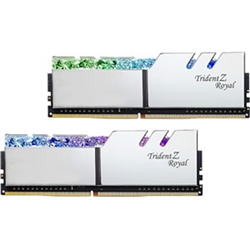 TRIDENT Z ROYAL SILVER 32G KIT 2X16G PC4-28800 DDR4 3600MHZ CL14-15-15-35 1.45V DIMM