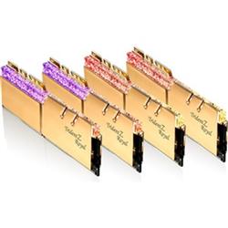 TRIDENT Z ROYAL GOLD 128G KIT 4X32G PC4-28800 DDR4 3600MHZ CL18-22-22-42 1.35V DIMM