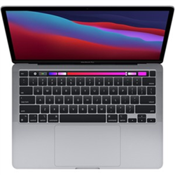 13-INCH MACBOOK PRO: APPLE M1 CHIP WITH 8 CORE CPU AND 8 CORE GPU- 512GB SSD - SPACE GREY