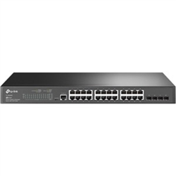 JETSTREAM 24-PORT GIGABIT L2+ MANAGED SWITCH WITH 4 SFP SLOTS
