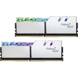 TRIDENT Z ROYAL SILVER 64G KIT 2X32G PC4-28800 DDR4 3600MHZ CL16-22-22-42 1.45V DIMM