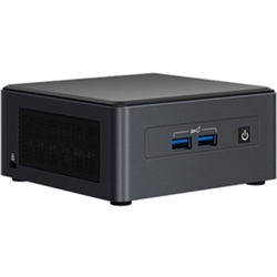 INTEL NUC MINI PRO KIT-I7-1185G7-DDR4(0/2)-M.2(0/1)-2.5(0/1)2XLAN-VPRO-NO PWR CORD-3YR