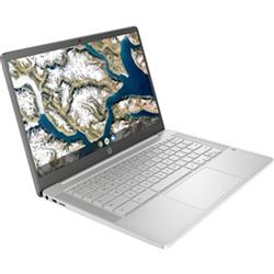 HP 14A-NA0017TU CELERON-N4020 4GB LPDDR4-2400 64GB EMMC 14 INCH HD SCREEN WEBCAM WL-AC BT-5.0 2-CELL BATT CHROME OS 1/1/0 WARRANTY