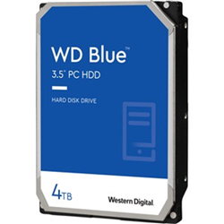 WESTERN DIGITAL 4TB PC HARD DRIVE WD40EZAZ SATA III 5400RPM 256 CACHE 3.5IN INTERNAL
