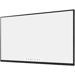 FLIP WM75A 75IN INTERACTIVE TOUCH DISPLAY UHD 4K LANDSCAPE ONLY IR TOUCH UP TO 20 POINTS TOUCH BUILT IN SPEAKER HDMI IN X 2 DP X1 OPS SLOT USB X 2 HDMI OUT TOUCH OUT PASSIVE PEN WITH MAGNET