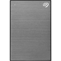 1TB ONE TOUCH PORTABLE W RESCUE - SPACE GREY
