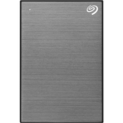 4TB ONE TOUCH PORTABLE W RESCUE - SPACE GREY