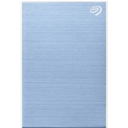 5TB ONE TOUCH PORTABLE W RESCUE - BLUE
