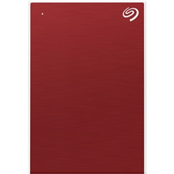 5TB ONE TOUCH PORTABLE W RESCUE - RED