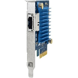 NETWORK ADAPTER 10 GIGABIT SINGLE PORT RJ-4510M/100M/1/2.5/5/10GBT PCIE X4 PXE/UEFI BOOT TAA