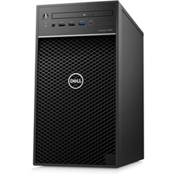 PRECISION 3650 TOWER WORKSTATION I7-10700K 16GB[2X8GB DDR4-NON ECC] 512GB[M.2-SSD] NV-P2200[5GB] WL-AC +BT4.1 DVDRW WIN10PRO64 1YR ONSITE [KEYBOARD + MOUSE INCLUDED]