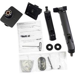 HX DESK MONITOR ARM WITH HD PIVOT MATTE BLACK