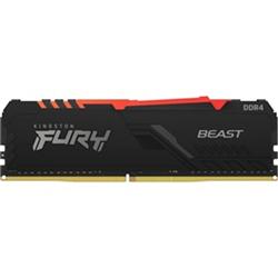 64GB 3600MHZ DDR4 CL18 DIMM (KIT OF 2) FURY BEAST RGB