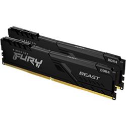 8GB 2666MHZ DDR4 CL16 DIMM (KIT OF 2) FURY BEAST BLACK
