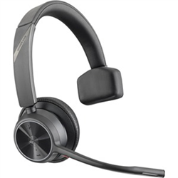 POLY VOYAGER 4310 UC- V4310 MONAURAL W/ BT700 USB-A- BT WIRELESS HEADSET - CERT MS TEAMS