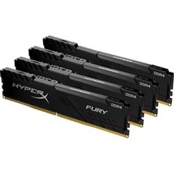 64GB 3000MHZ DDR4 CL16 DIMM KIT OF 4 HYPERX FURY BLACK