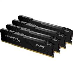 64GB 3200MHZ DDR4 CL16 DIMM KIT OF 4 HYPERX FURY BLACK