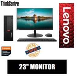 LENOVO M720Q TINY I5-9400T- 256GB SSD- 16GB + LENOVO 23