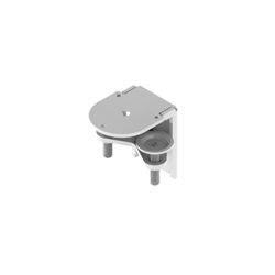 HUMANSCALE MFLEX/ M2.1/M8.1/M10 CLAMP ASSY SILVER