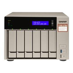 QNAP 6-BAY NAS (NO DISK) AMD QC 2.1GHZ- 4GB- GBE(4)- HDMI- TWR- 2YR WTY