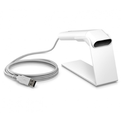 HP SCANNER KIT ENGAGE ONE 2D USB STAND WHITE