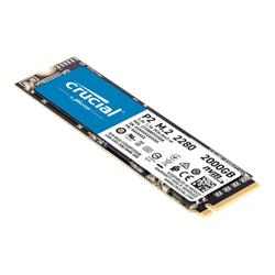 CRUCIAL P2 2TB- M.2 INTERNAL NVME PCIE SSD- 2400R/1900W MB/S - 5YR WTY