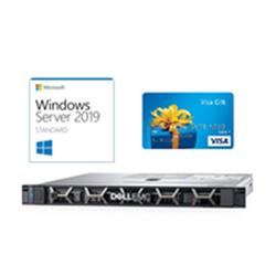 DELL R340 1U- E-2224(1/1)- 8GB + MS WIN SVR STD 2019 + BONUS $200 VISA CARD!