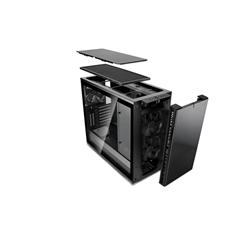 FRACTAL DESIGN DEFINE R6 BLACKOUT TEMPERED GLASS USB-C