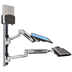 ERGOTRON SIT-STAND LX WALL MNT SMALL BLACK CPU/H
