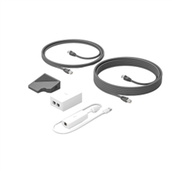 LOGITECH CAT5E KIT- W/ TAP RECEIVER DONGLE PSU & ADAPTORS(2.97M)- CAT5E CABLE(7M)- 2YR WTY