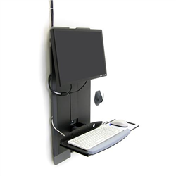 ERGOTRON STYLEVIEW VERTICAL LIFT HIGH TRAFFIC CHG