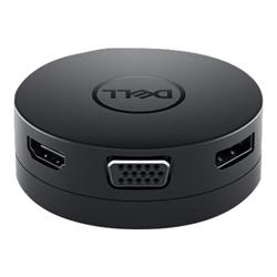 DELL DA300 USB-C ADAPTER- USB HDMI- VGA- DP- LAN- 1YR