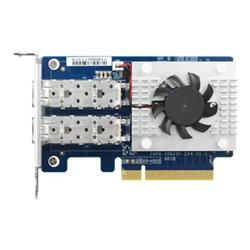 QNAP  DUAL PORT 10GBE SFP+ NETWORK CARD- LOW-PROFILE (PCIE GEN3 X8)