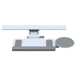 HUMANSCALE KEYBOARD TRAY 6G STD 11IN TRACK WHI