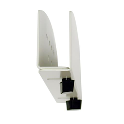 ERGOTRON VERTICAL SMALL CPU HOLDER WHITE