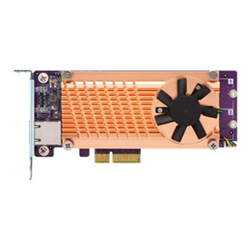QNAP QM2 CARD- DUAL M.2 PCIE SSD- 10GBASE-T(1) EXPANSION CARD-LOW PROFILE BRACKET