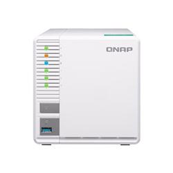 QNAP TS-328- 3 BAY NAS (NO DISK)- RTD1296- 2GB- USB- GBE(2)- TWR- 2YR