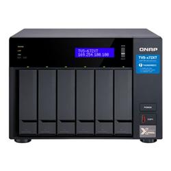 QNAP 6-BAY NAS (NO DISK) INTEL QC 3.1GHZ- 8GB- 10GBE(1)- GBE(2)- T3(2)- TWR- 2YR WTY