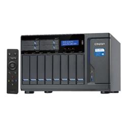 QNAP TVS-1282T3-I7-32G NAS-8+4+2XM.2 SLOT(NO DISK)-I7-7700-32GB-THUNDERBOLT3-GBE(4)-TWR-2Y