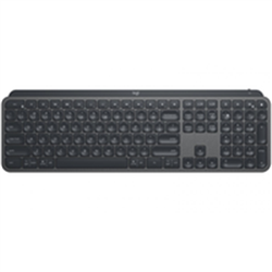 LOGITECH MX KEYS ADVANCED WIRELESS ILLUMINATED KEYBOARD- UNIFYING RECEIVER OR  BT- 1YR WTY