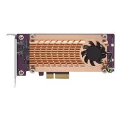 QNAP DUAL M.2 22110/2280 PCIE SSD EXPANSION CARD (PCIE GEN2 X4)