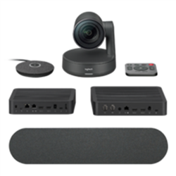 LOGITECH RALLY ULTRA HD CONFERENCE SYSTEM KIT- CAMERA (1)-HUB(2)-SPEAKER(1)- MIC POD(1)-
