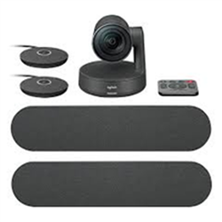LOGITECH RALLY PLUS HD CONFER ENCE SYSTEM KIT- CAMERA (1)-HUB(2)-SPEAKER(2)- MIC POD(2)-